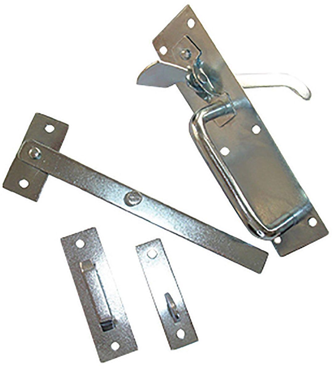 SUFFOLK LATCH GARDEN GATE DOOR THUMB LOCK ZINK WITH FIXINGS