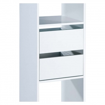Basix White Drawer Pack For Basix Tower Unit Selco