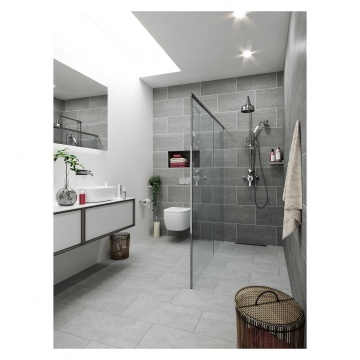 Grunge Matt Light Grey Porcelain Floor Amp Wall Tile 300 X