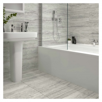 Veneto Matt Grey Porcelain Floor Amp Wall Tile 300 X 600mm
