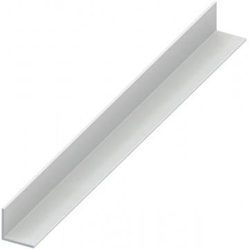 White Pvc Plastic Angle 30 X 30 X 2000mm Selco
