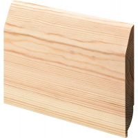 "Reversible Chamfered/Oval Skirting 150mm (6"") NOM"