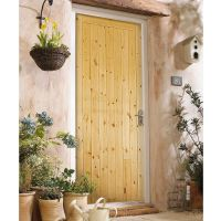 "External Framed Ledged & Braced Door 1981 x 838mm (6'6"" x 2'9"") FSC®"