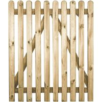 Fence Wicket Gate Rounded Top 1000 x 900mm FSC®