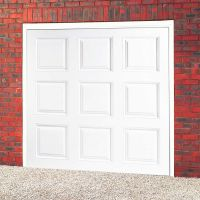 Regal Framed Garage Door ABS White