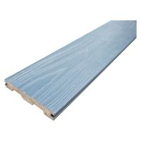 Solid Composite Deck Board Dark Grey 138 x 22mm x 3.6m