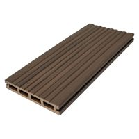 Hollow Composite Deck Board Bowness Brown 135 x 22 x 3600mm