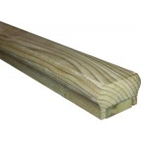 Decking Universal Rail Including Fillet 2.4m FSC®