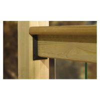 Decking Post Chamfered & Beaded 82 x 82 x 1500mm PEFC