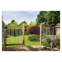 Clearview Decking Glass Panels Pk 7