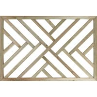 Cross Hatch Decking Panel 1135 x 760 x 32mm FSC®