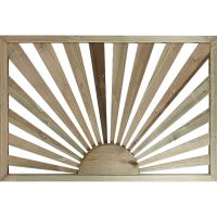 Sunburst Decking Panel 1130 x 770 x 32mm FSC®
