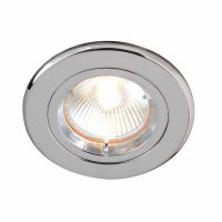 Robus Fixed Downlight Polished Chrome