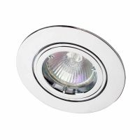 Robus Tilt Downlight Polished Chrome