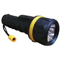 LED Rubber Torch 2 x AA (Batteries not included)