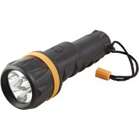 LED Rubber Torch 2 x D (Batteries not included)