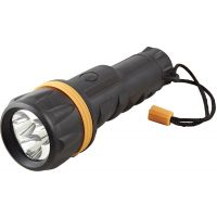 LED Rubber Torch 3 x D (Batteries not included)
