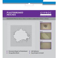 Assorted Plasterboard Patches Pk 12