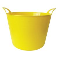 26ltr Yellow Rhino Flexi Tub