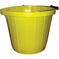 14ltr Heavy Duty Yellow Bucket