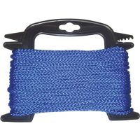 Braided Polypropylene Blue Rope