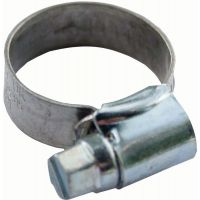 "Adjustable Hose Clip 13mm-20mm (1/2"" - 5/8"") (Pk 2)"