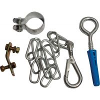 Cooker Stability Chain with Hook & Eye