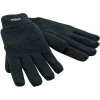 Black Thinsulate Lined Gloves