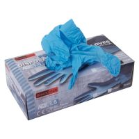 Blackrock Disposable Nitrile Gloves Medium Pack of 100