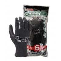 Blackrock PU Palm Coated Grip Gloves 6 Pair Pack Size 10