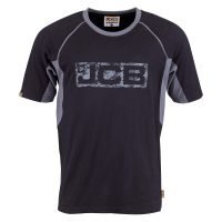 JCB Trade T Shirt Black/Grey