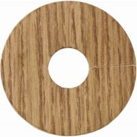 Laminate Flooring Pipe Covers English Oak Pack of 4