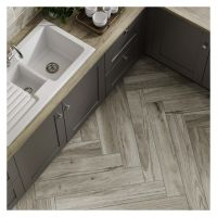 Orchard Wood Grey Porcelain Wall & Floor Tile 150 x 900mm
