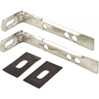 Glass Block Stainless Steel Panel Anchor 125mm (Pk 2)