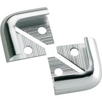Tile Trim Corner Pieces Silver 8mm Pack of 2