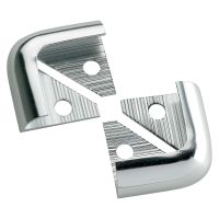 Silver 12mm Corner Pieces Pack of 2