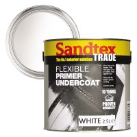 Sandtex Exterior Flexible Primer Undercoat White 2.5ltr