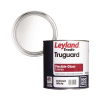 Leyland Truguard Flexible Exterior Gloss Brilliant White 2.5ltr