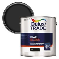 Dulux Trade High Gloss Black 2.5ltr