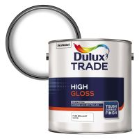 Dulux Trade High Gloss Brilliant White 2.5ltr