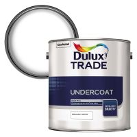 Dulux Trade Undercoat Brilliant White 2.5ltr