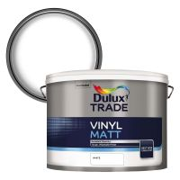 Dulux Trade Vinyl Matt Emulsion White 10ltr
