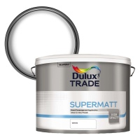 Dulux Trade Supermatt Emulsion White 10ltr