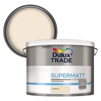 Dulux Trade Supermatt Emulsion Magnolia 10ltr