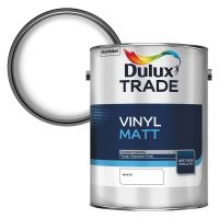 Dulux Trade Vinyl Matt Emulsion White 5ltr