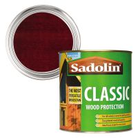 Sadolin Classic Wood Protection Mahogany 1ltr