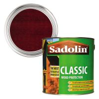 Sadolin Classic Wood Protection Mahogany 2.5ltr