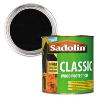 Sadolin Classic Wood Protection Ebony 1ltr
