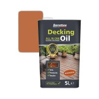 Barrettine All In One Deck Oil Rosewood 5ltr