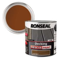 Ronseal Decking Rescue Paint Chesnut 2.5ltr